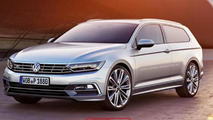 2015 Volkswagen Passat Shooting Brake render