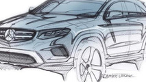2016 Mercedes-Benz GLC official design sketch