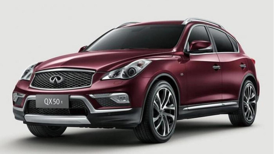 China-spec Infiniti QX50 revealed with minor visual tweaks