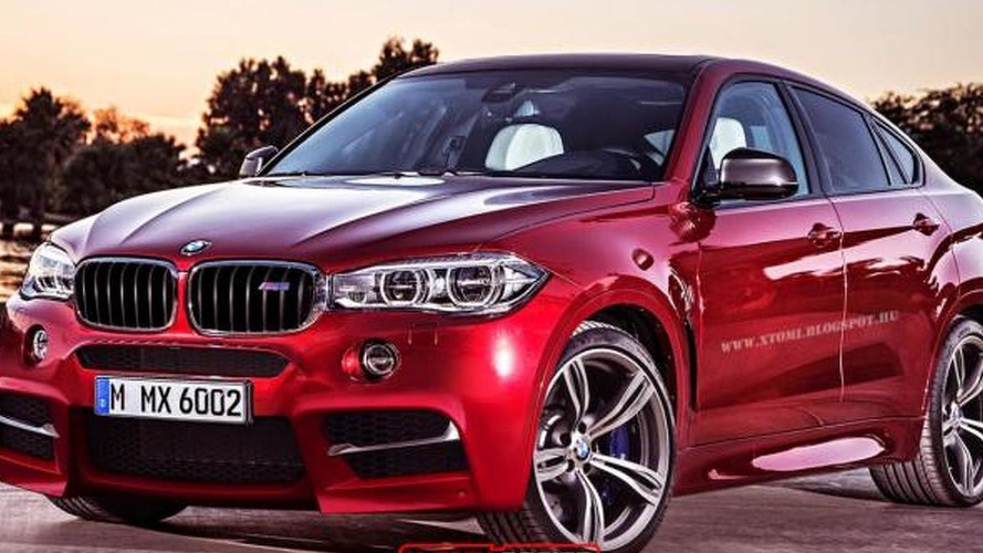 2016 BMW X6 M speculatively rendered