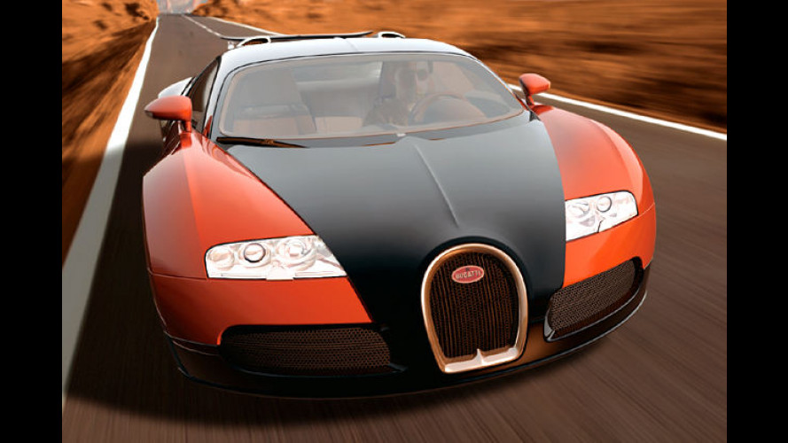 Über 400 km/h: Bugatti Veyron zeigt's dem TÜV
