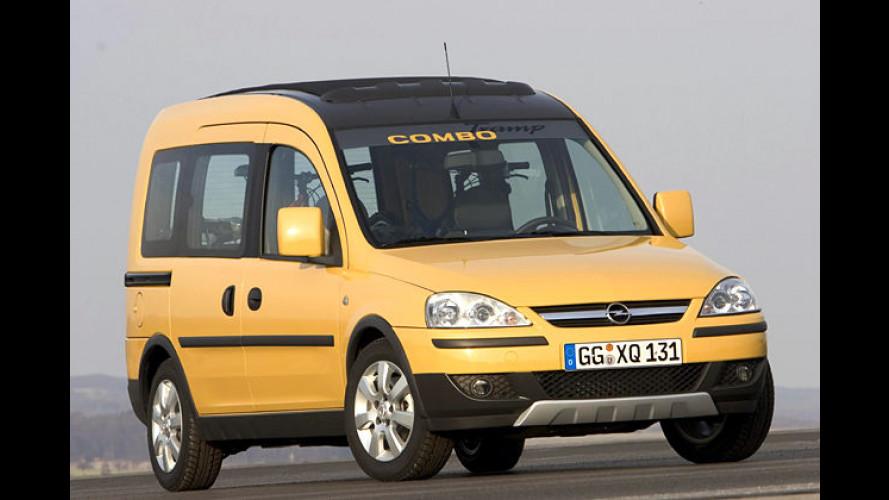 Opel Combo Tramp: Hochbeinig und Offroad-stylig