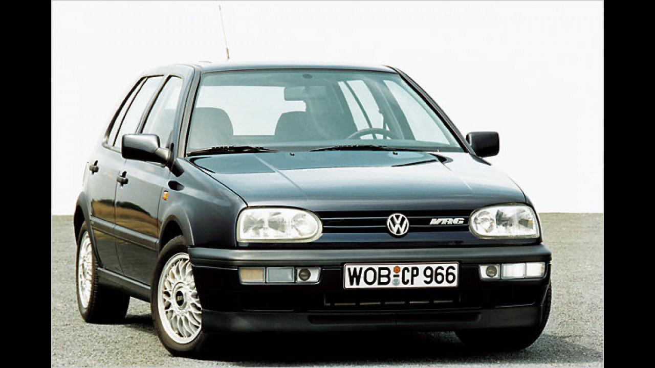 VW Golf III VR6, Bauzeit: 1992 bis 1997