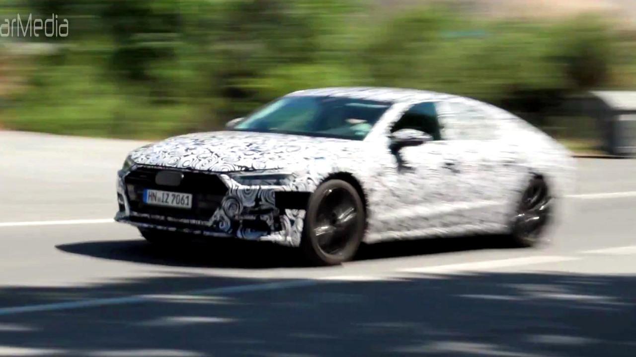 Audi A7 spy video