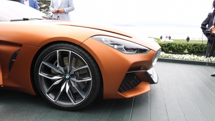 BMW Z4 Concept Unveiled At Pebble Beach