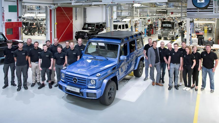Mercedes-Benz fabrica su Clase G número 300.000
