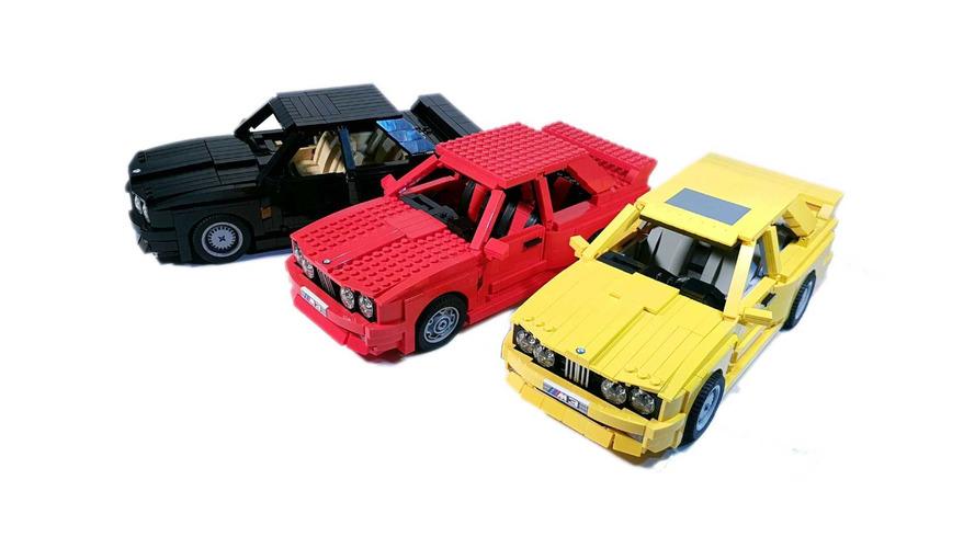 Muhteşem BMW E30 M3 LEGO