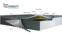 Paper ream-like battery