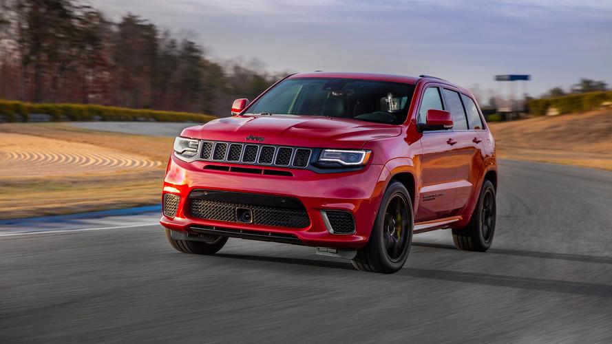 717 chevaux pour le Jeep Grand Cherokee Trackhawk