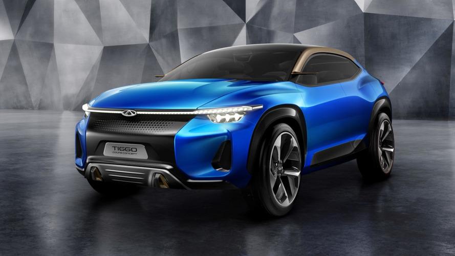 Chery Tiggo Coupe Concept mostra a ousadia chinesa