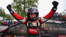 Oliver Solberg, vainqueur en rallycross à 15 ans