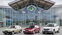 Skoda 15 millions de voitures sous VW