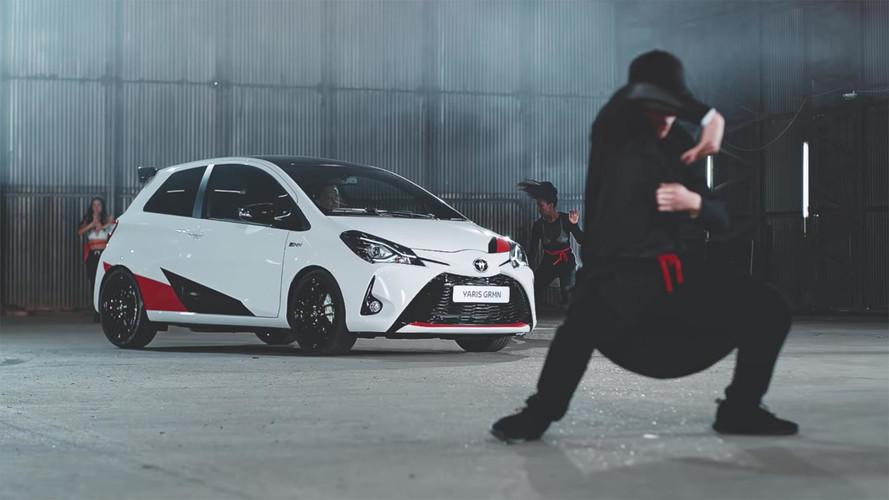 Toyota Yaris GRMN Ad Shows Rhythm Is A Hot Hatch Dancer