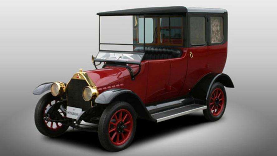Une Mitsubishi de 1917 renaît pour les 100 ans du constructeur