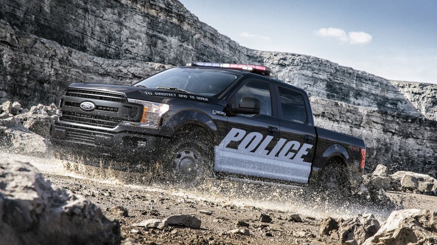 New Ford F-150 And Expedition Put On Police Uniforms