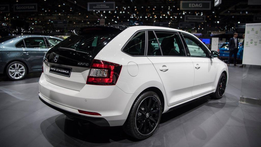 2017 skoda rapid brings sophisticated facelift to geneva. Black Bedroom Furniture Sets. Home Design Ideas