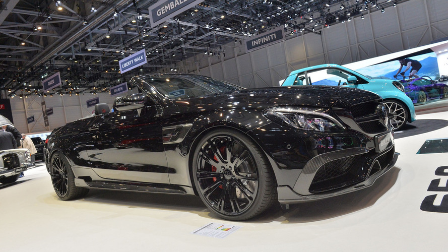 Brabus brings sinister 200mph Mercedes-AMG C63 S Cabriolet to Geneva