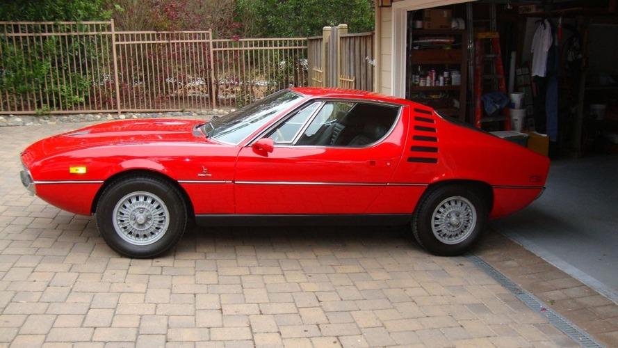 eBay'de satışa çıkan 1971 Alfa Romeo Montreal hayal gücüne yer bırakmıyor