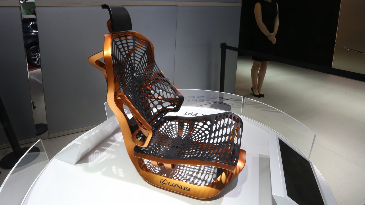 Lexus Kinetic Seat Concept Paris Motor Show