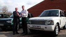 Land Rover Customer Collects Twenty-Seventh Range Rover
