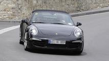 2013 Porsche 911 Targa spied with a retro roll bar