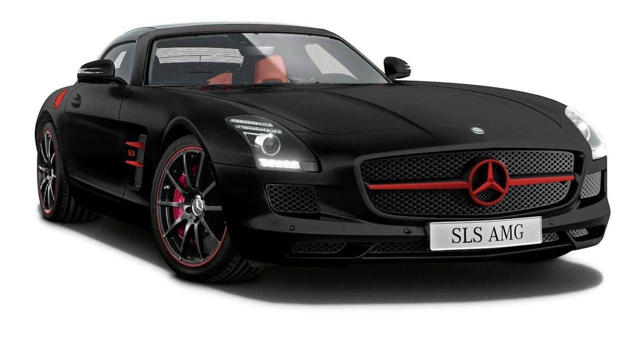 Mercedes SLS AMG Matte Edition 07.6.2012