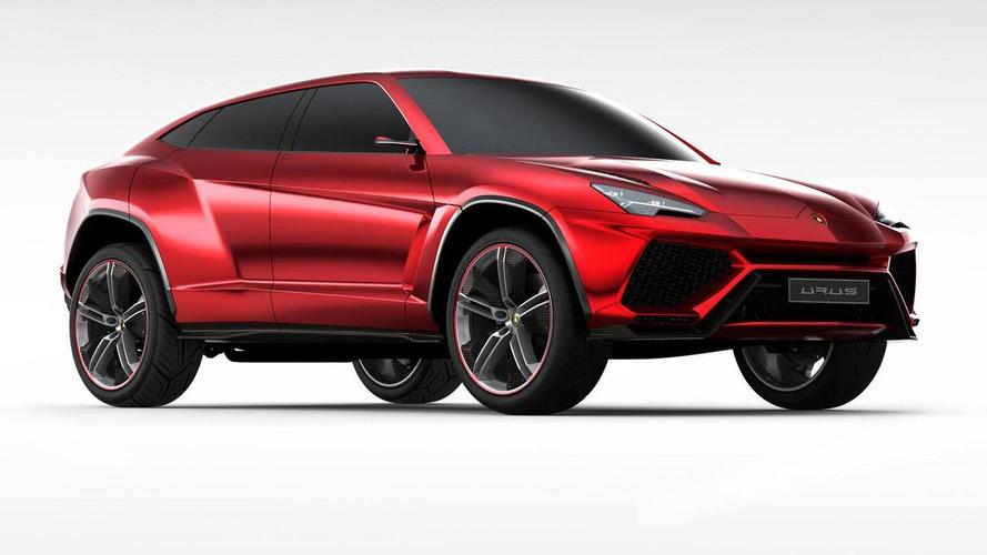 Lamborghini Urus en la fábrica sin camuflaje