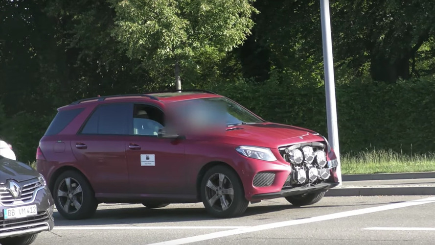 What Is This GLE Hiding Behind Its Six Mercedes Badges?