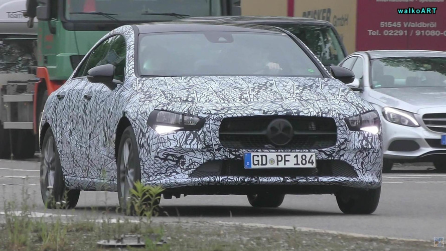 2019 Mercedes CLA Makes Brief Apperance In Front Of Spy Camera