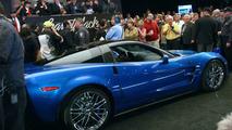 First Corvette ZR1 at auction