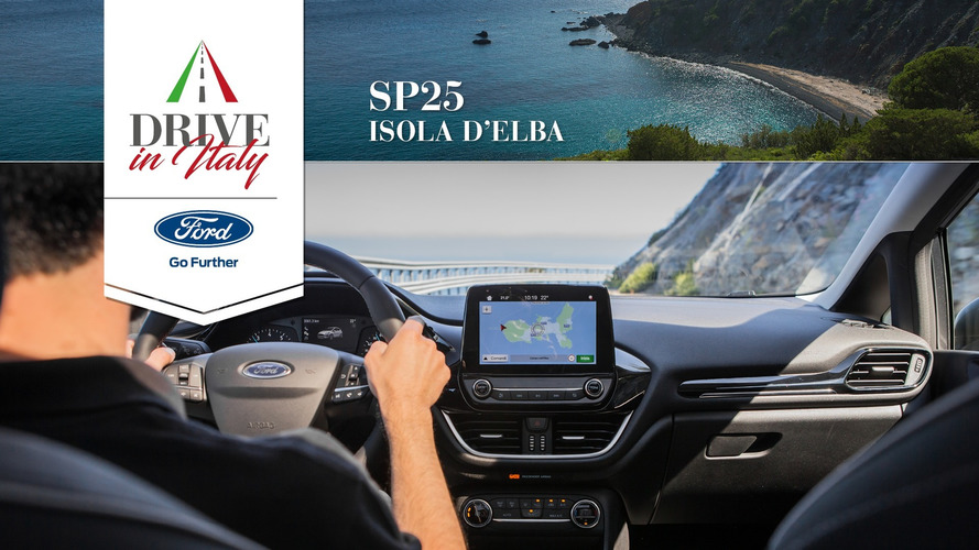 Ford Fiesta Active, un crossover per le strade dell'Isola d'Elba