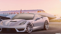 Chevrolet Corvette Stingray ZR1 rendered