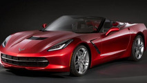 Corvette Stingray Convertible teased for Geneva