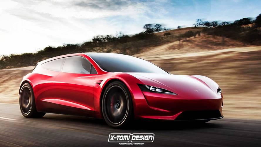 Tesla Shooting Brake Render Proves The Internet Doesn't Sleep