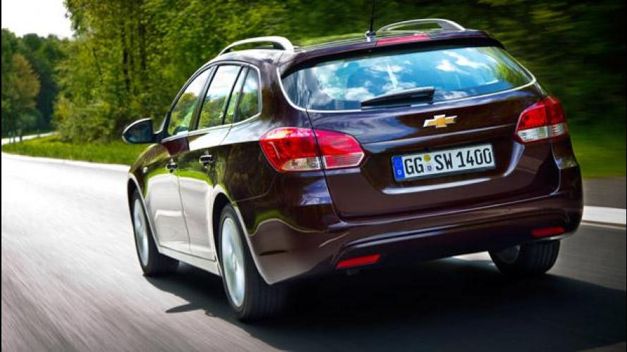 Chevrolet lascia l'Europa