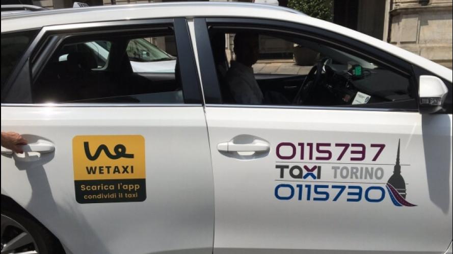 App taxi, Wetaxi a Torino e altre novità