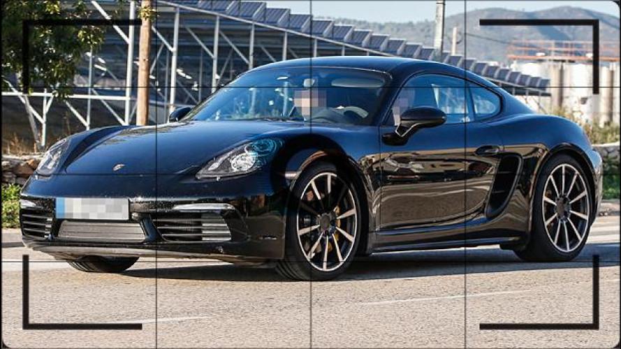 Porsche Cayman, il restyling esce allo scoperto