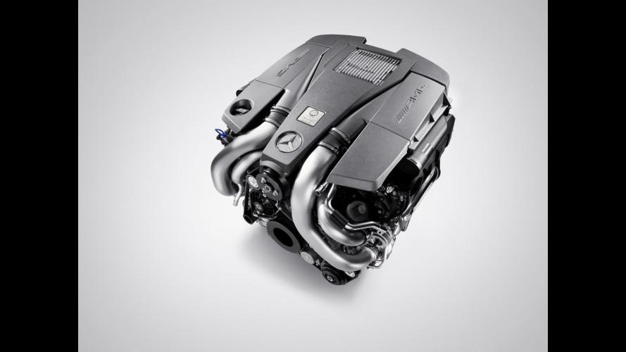 Nuovo motore V8 per la Mercedes S63 AMG