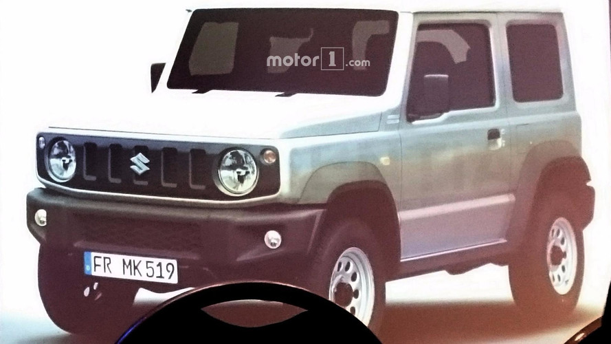 2018 Suzuki Jimny Fully Leaked Inside And Out