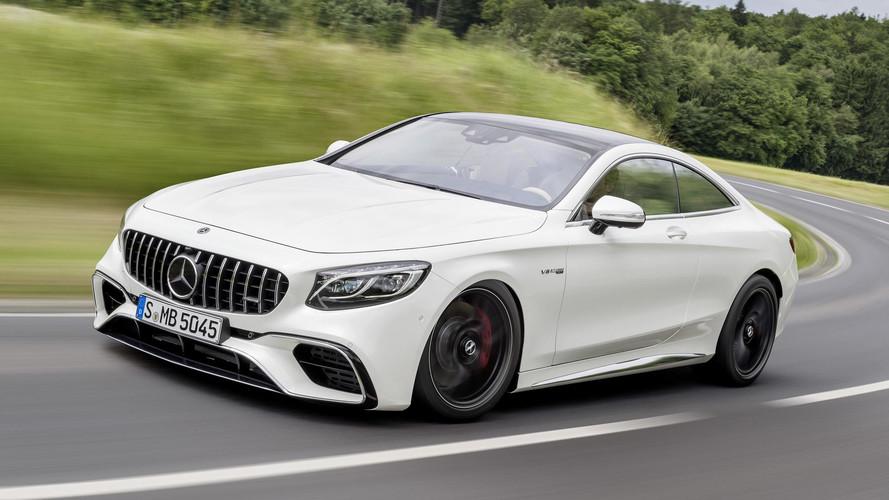 Mercedes Classe S Coupe renovado estreia no Salão de Frankfurt