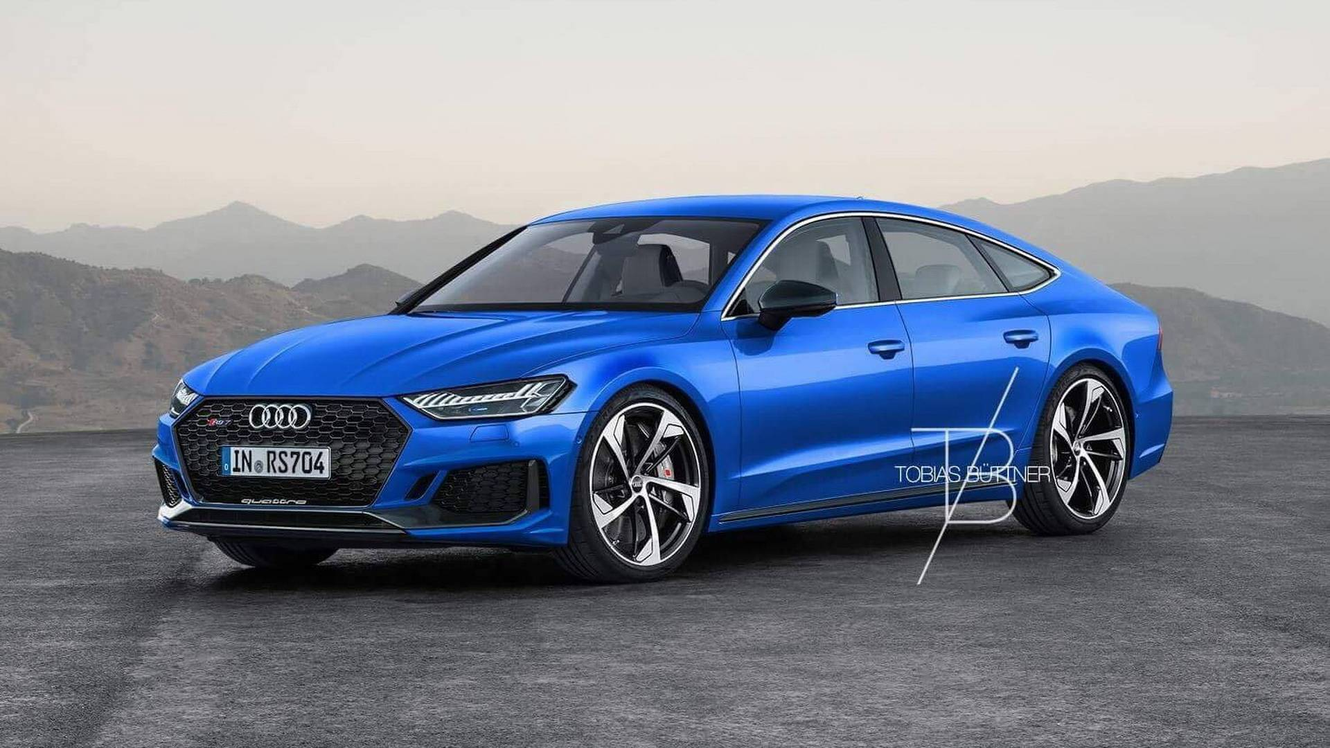 2019 Audi Rs7 Rendered Could Come With 700 Hp Hybrid