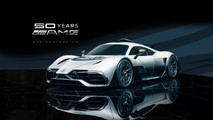 Mercedes-AMG Project One Rendu