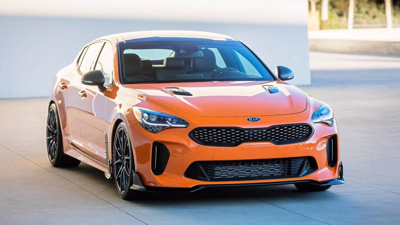 kia stinger gt federation sema photos. Black Bedroom Furniture Sets. Home Design Ideas