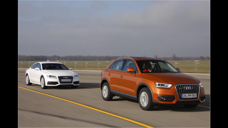 Audi-Innovationen für mehr Sicherheit