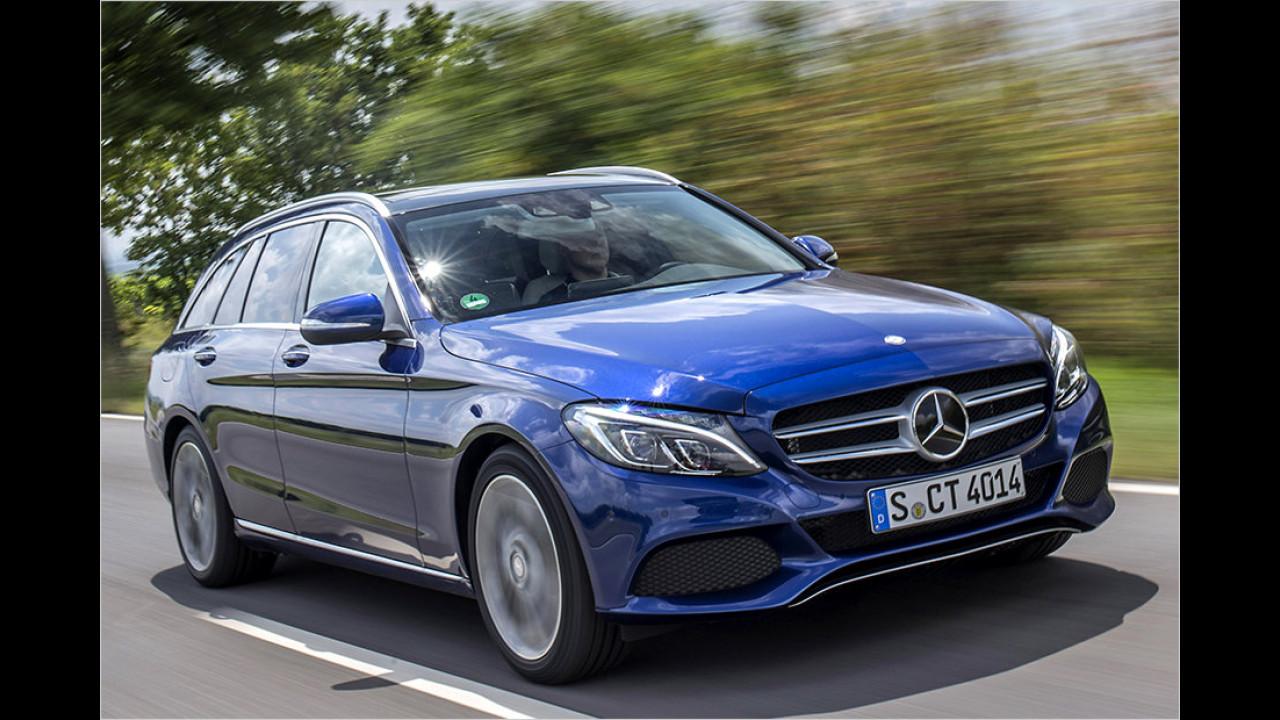 Mittelklasse, Platz 2: Mercedes C-Klasse