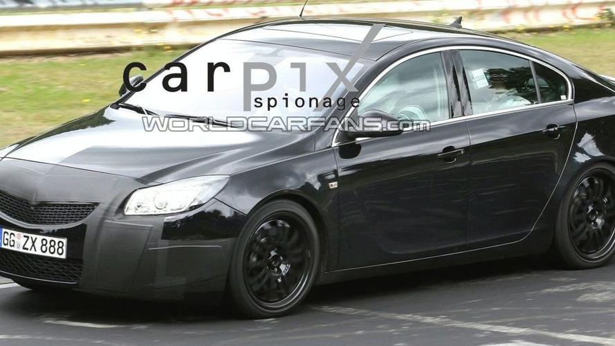 Opel Insignia OPC Caught Testing?