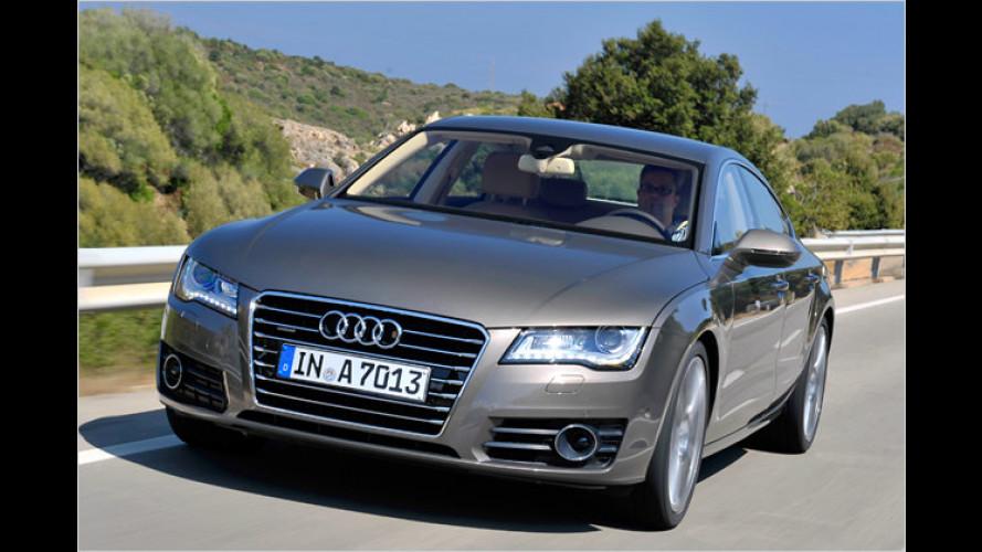Audi A7 Sportback im Test: So ein feiner Rücken
