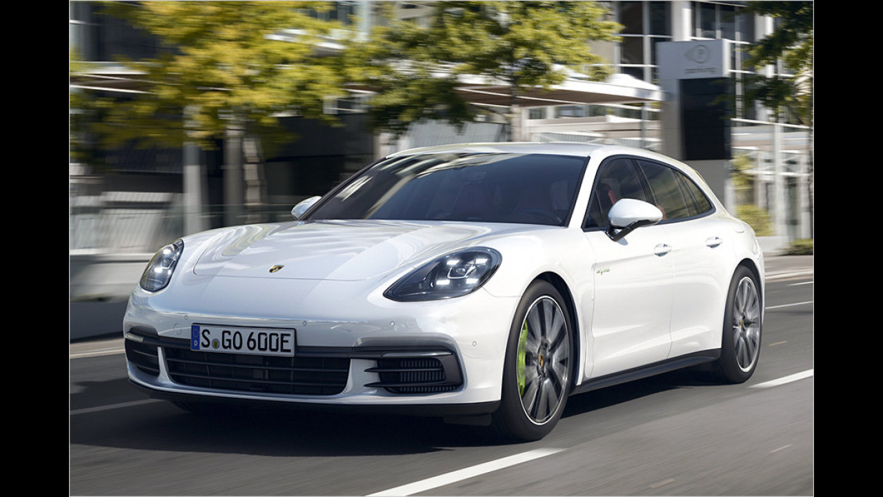 Porsche Panamera Sport Turismo: 5,05 Meter