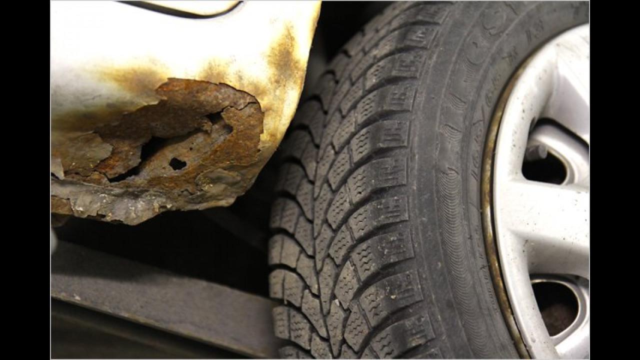 ,Den Defekt hat mein Auto seit Jahren, das hat noch nie gestört