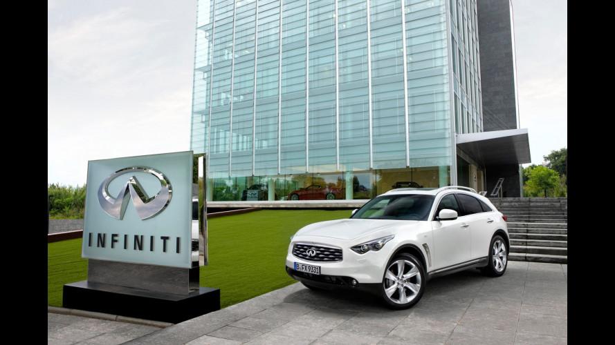Infiniti FX model year 2011